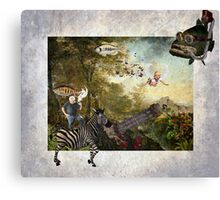 Theatre Of The Absurd #5 Canvas Print