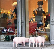 After the Girl, not the Sale/ Three Little Pigs.   by FoodMaster