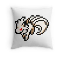 Pokemon 8-Bit Pixel Ninetails 038 Throw Pillow