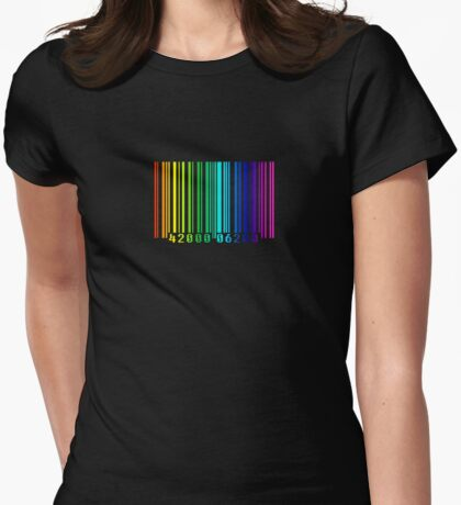 Scanned in Colour Womens Fitted T-Shirt