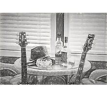 Night Life - Guitars - Music Photographic Print