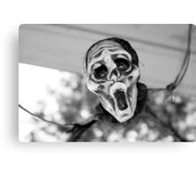 Scary Hallow Canvas Print