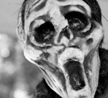 Scary Hallow Sticker
