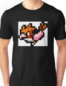 Pokemon 8-Bit Pixel Spearow 021 Unisex T-Shirt