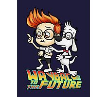WAYBAC to the Future Photographic Print