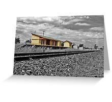 Dunedoo Rail Greeting Card