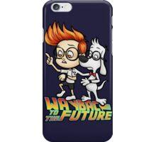 WAYBAC to the Future iPhone Case/Skin