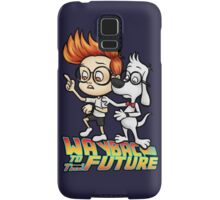 WAYBAC to the Future Samsung Galaxy Case/Skin
