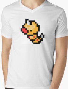 Pokemon 8-Bit Pixel Weedle 013 Mens V-Neck T-Shirt