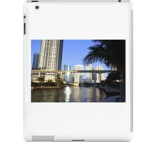 Sunset on the Miami River iPad Case/Skin
