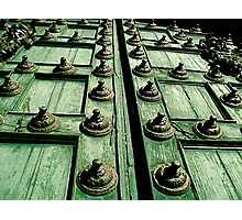 Rustic Church Door Photographic Print
