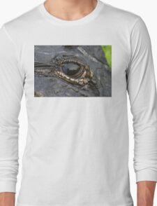 Alligator Eye Long Sleeve T-Shirt