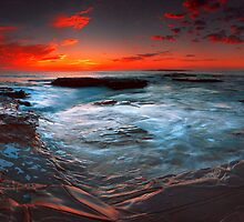 Minutes Before Sunrise at Port Kembla by fischstarr