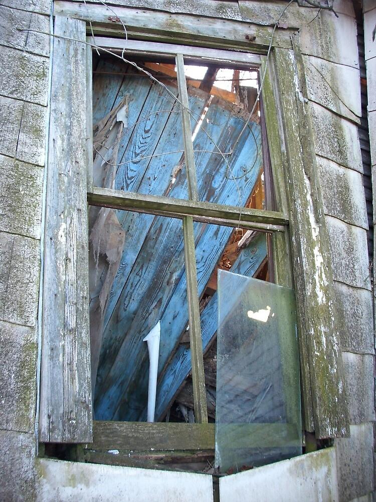 farm house window by AJ Belongia