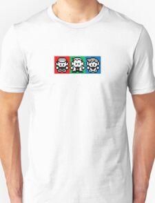 Pokemon Beginnings - Ash, Oak, Gary Red Blue Yellow Unisex T-Shirt