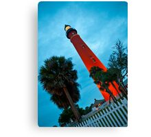 Ponce de Leon Inlet Light - Ponce Inlet, Florida Canvas Print