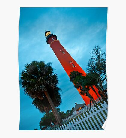 Ponce de Leon Inlet Light - Ponce Inlet, Florida Poster