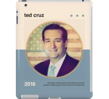 Ted Cruz 2016 iPad Case/Skin
