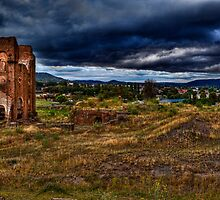 Blast Furnace Park - Lithgow by Ian English