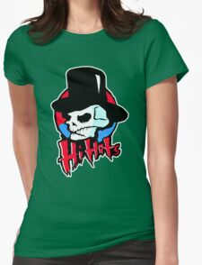 The Hi-Hats Womens Fitted T-Shirt