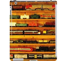 many trains iPad Case/Skin