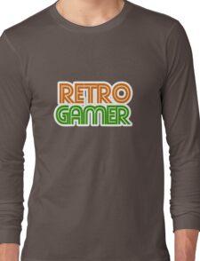 Retro Gamer geek Long Sleeve T-Shirt