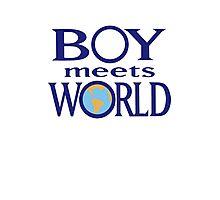 Boy meets world Photographic Print