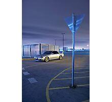 Silver Nissan R32 Skyline GTR #2 Photographic Print