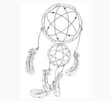 Dreamcatcher (White) One Piece - Short Sleeve