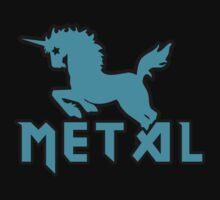 Death metal unicorn by Boogiemonst
