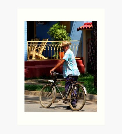 Vinales Local (Cuba) Art Print