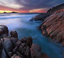 Whisky Bay Dusk, Wilsons Promontory, Victoria, Australia by Michael Boniwell