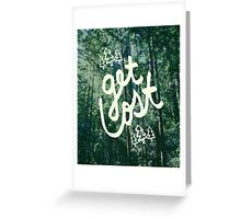 Get Lost x Muir Woods Greeting Card