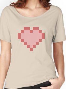 Heart Pixels  Women's Relaxed Fit T-Shirt