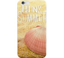 Think Summer Pink iPhone Case/Skin