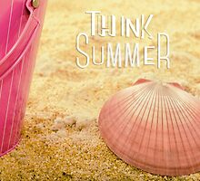 Think Summer Pink by Mariannne Campolongo