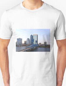 Blue Bridge Jacksonville Florida T-Shirt