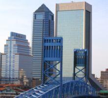 Blue Bridge Jacksonville Florida Sticker