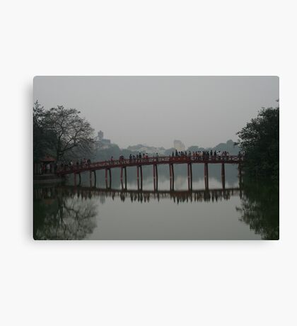 Hanoi lake Canvas Print