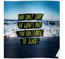 Learn to Surf Poster