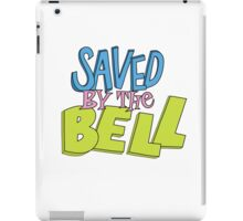 Saved by the bell iPad Case/Skin