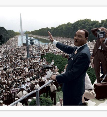MLK's March On Washington, August 27, 1963 Sticker