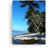 Calm on the Beach Canvas Print
