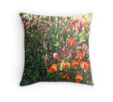 Gort na Coiribe Flowers - Galway  Throw Pillow