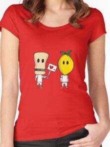 Lemon Love Women's Fitted Scoop T-Shirt