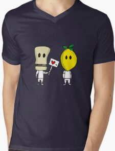 Lemon Love Mens V-Neck T-Shirt