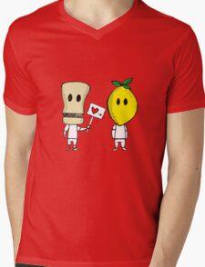 Lemon Love Mens V-Neck T-Shirt