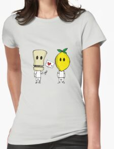 Lemon Love Womens Fitted T-Shirt