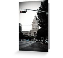 Capital Blues Greeting Card