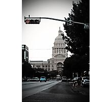 Capital Blues Photographic Print